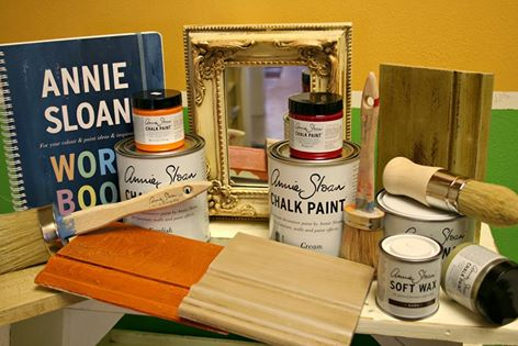 Chalk Paint® decorative paint by Annie Sloan workshop 101